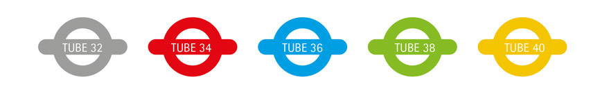 The Tube Icons